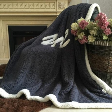 Winter blanket, soft and warm, in different colours