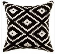 Natural fabric throw pillows, 50x50cm, in different partterns