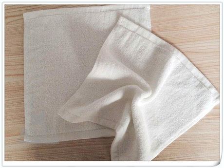 White face towels, small, 600gsm, 35x35cm