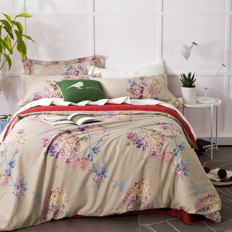 "Double-sided bedding set made of cotton satin 230TC ""Stylish variegation"""