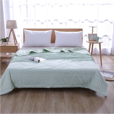 Delicate cotton organic quilt, size 230x200cm, for summer heat