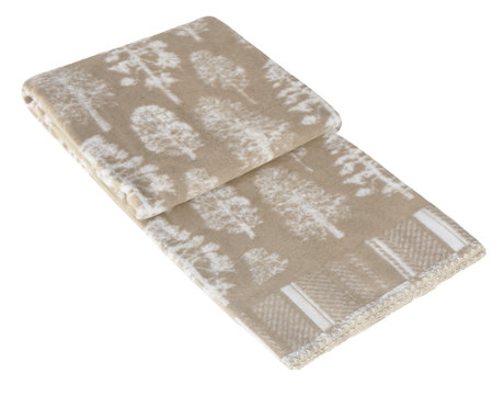 Woven cotton blanket, in light designs, in two sizes, for all year round