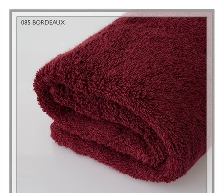 Italian bath towels for home bathroom, 600gsm, in luxurious colors