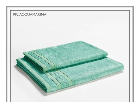 Italian bamboo-cotton towels, 460g/sq.m, shiny and special, different sizes