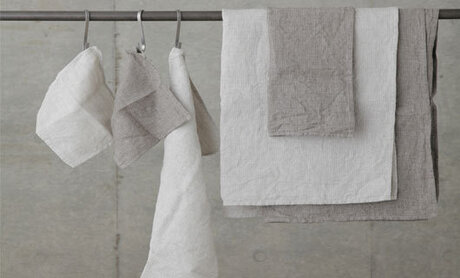 KItchen towels made of cotton and linen, in and different sizes, 300gsm
