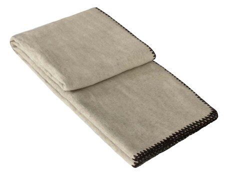 Warm children's natural blanket, size: 100x140 cm, for winter