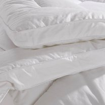 Comforter pillow for mattress, eco fibres filling