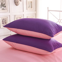 Wonderful sets of 100% softened cotton percale, 600TC and up, combined in two bright colors