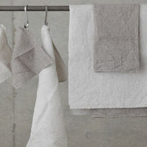 Color towels for the bathroom / kitchen - in a set and different sizes, 400gsm